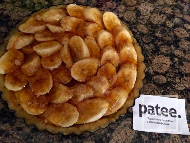 Банановый пирог с мёдом