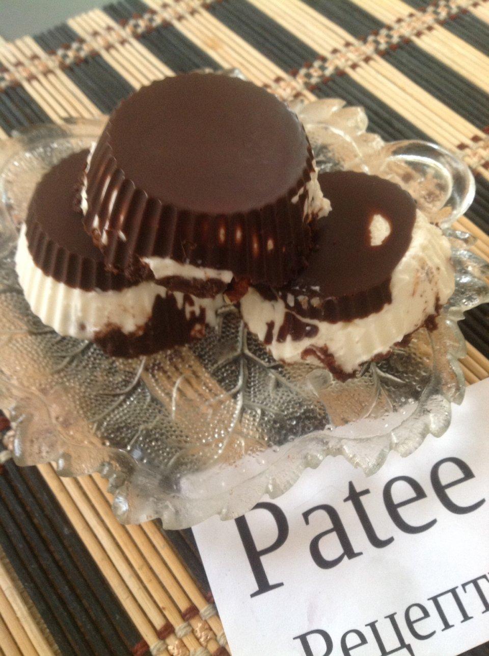 Творожное -ореховые сырки в шоколаде