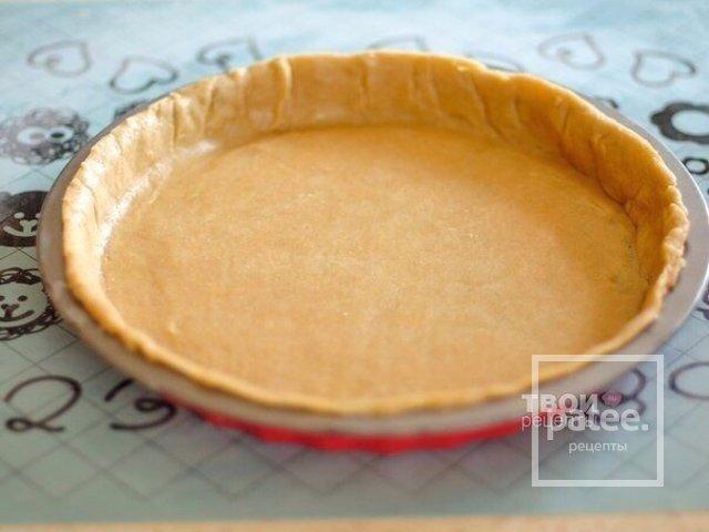 Пирог с персиком