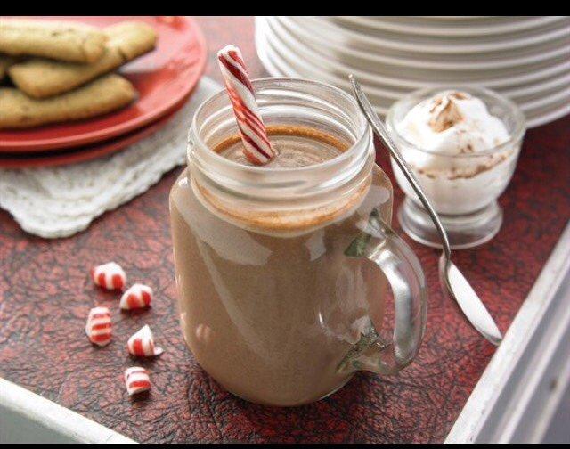Норячий шоколад с перечной мятой