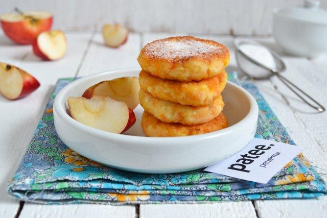 сырники с яблоком диетические рецепт с калорийностью