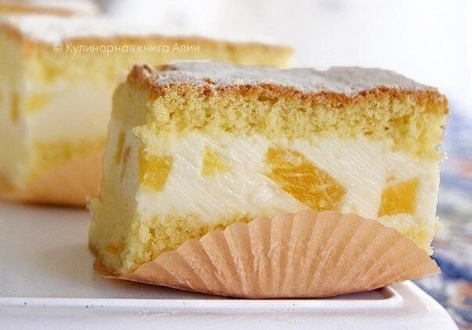 Торт с нежнейшим кремом