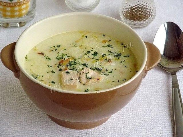 Супы рецепты с плавленным сыром