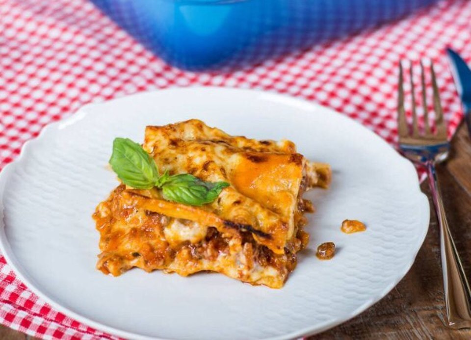 Классическая итальянская лазанья