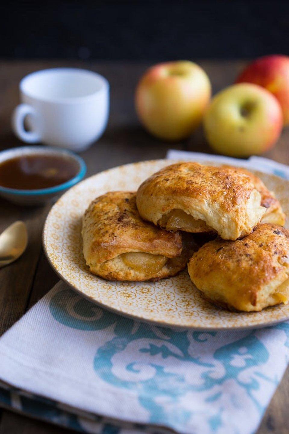 Яблочные бисквиты