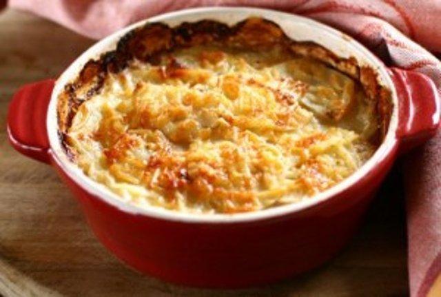 Creamy Au Gratin Potatoes (Сливочный Гратен из картофеля)