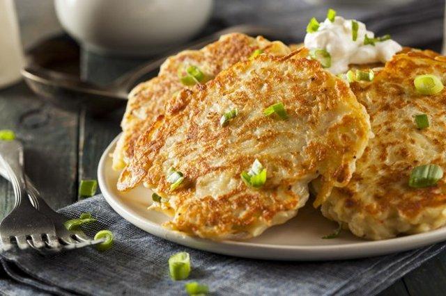рецепт драников картофельных с рыбной консервой