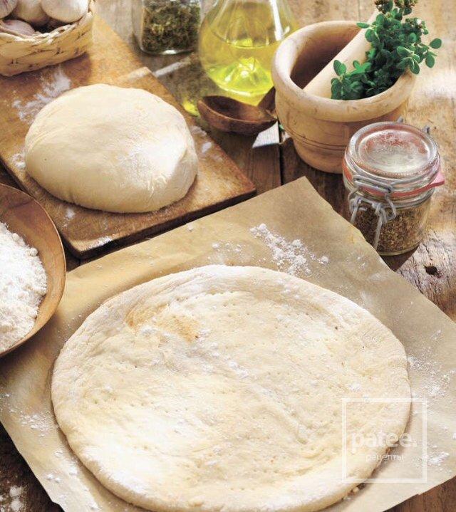 Для пиццы можно готовое тесто