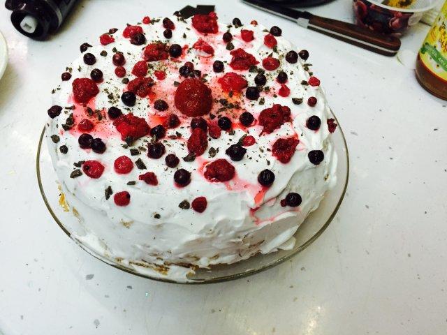 Торт бисквитный рецепт с фото для детей #8