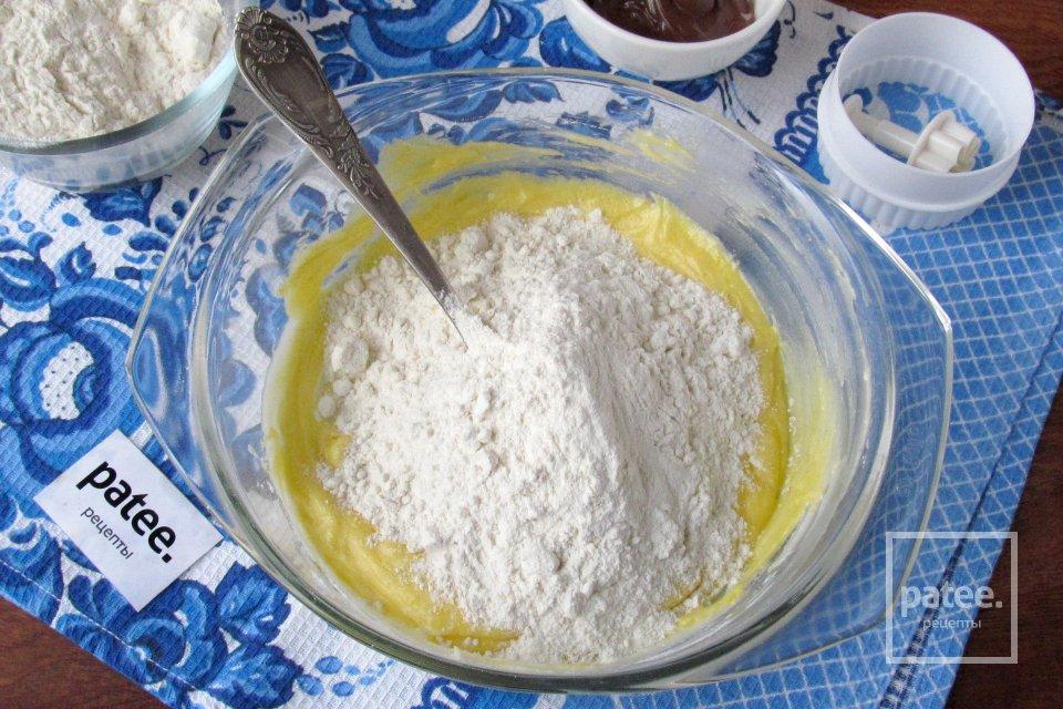 Песочное печенье с нутеллой