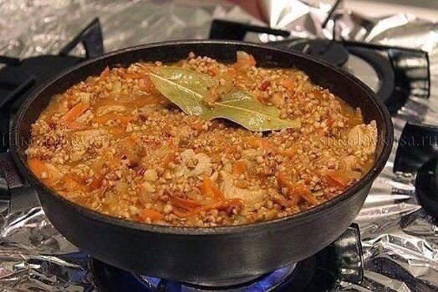 Рецепт вкусной гречки