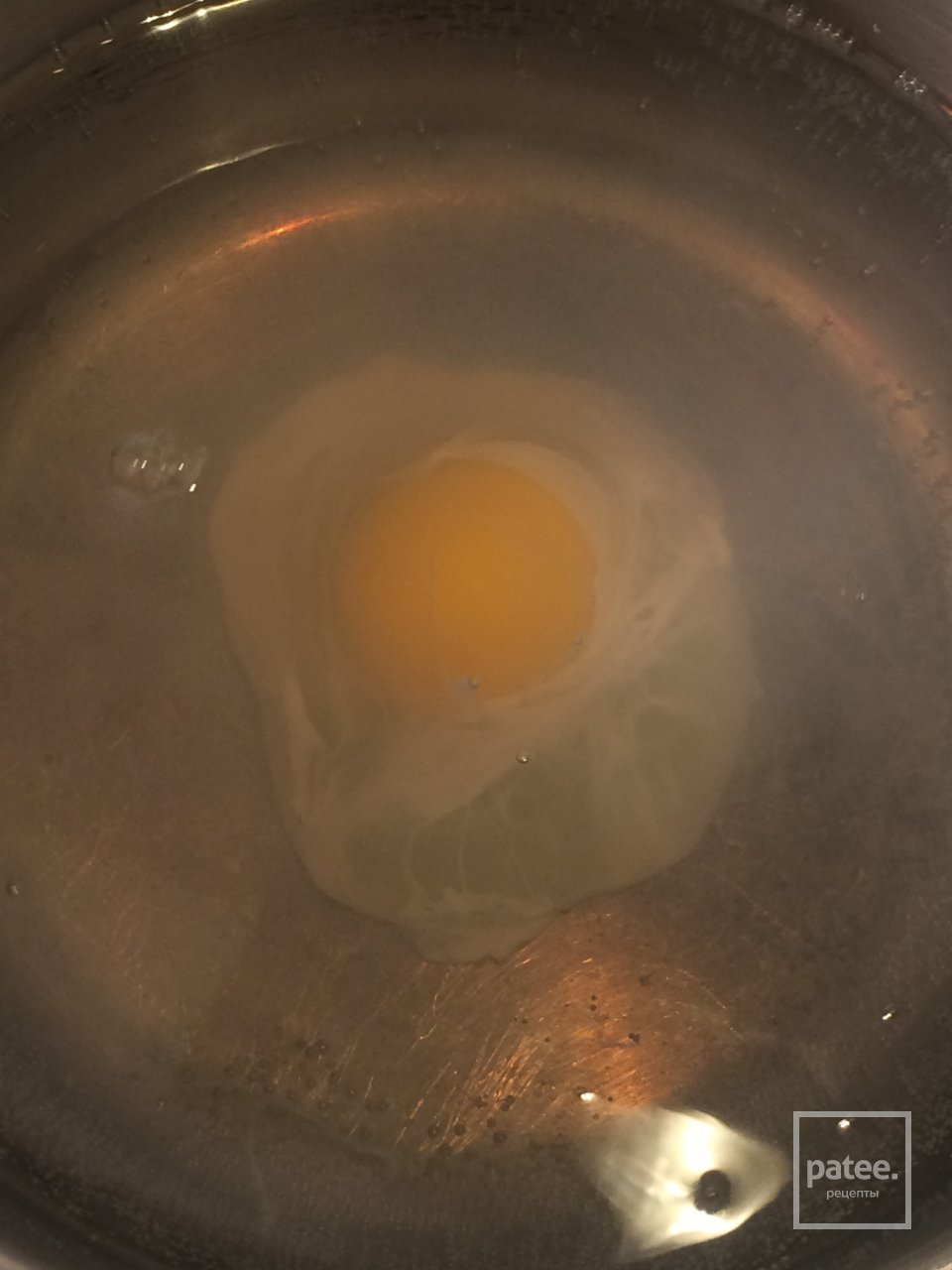 Яйцо пашот на блинчике из кабачка 🍳