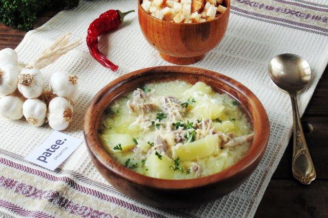рецепт чесночного супа