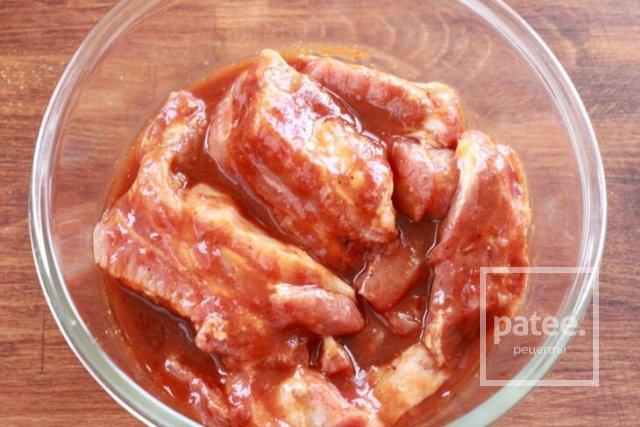 свиные ребра рецепт с фото пошагово