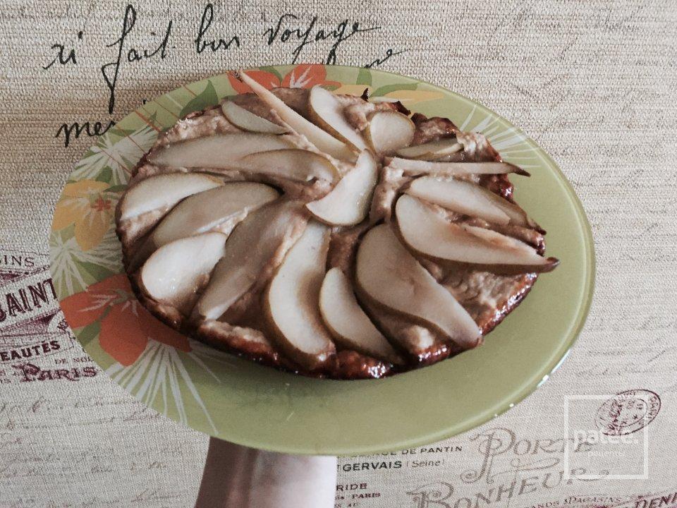 Грушевый пп пирог