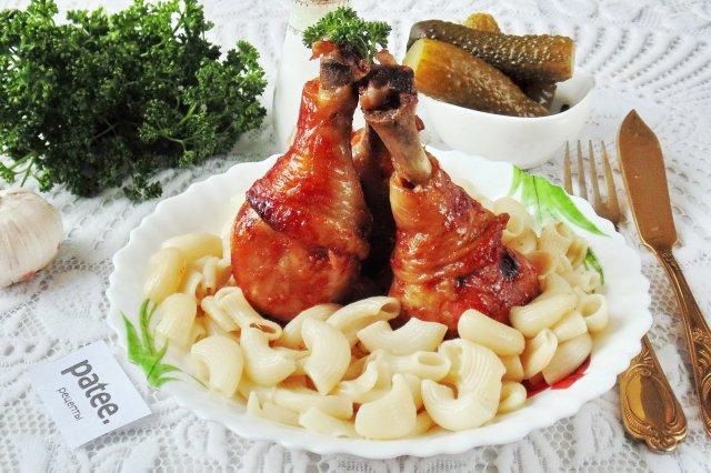 Куриные голени в соево-медовом маринаде