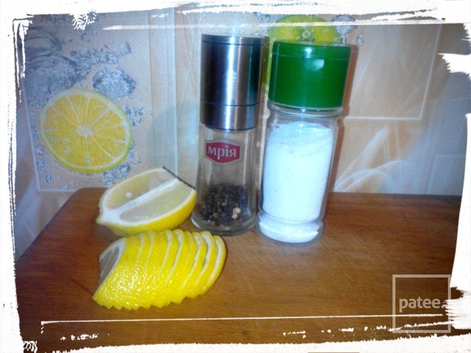 Скумбрия запеченная с лимоном
