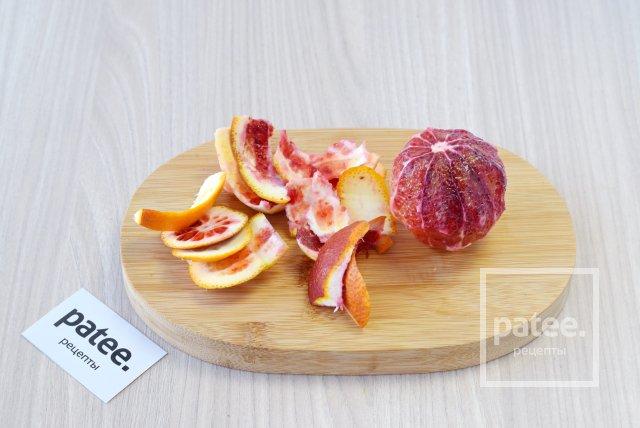 Овощной салат с апельсином