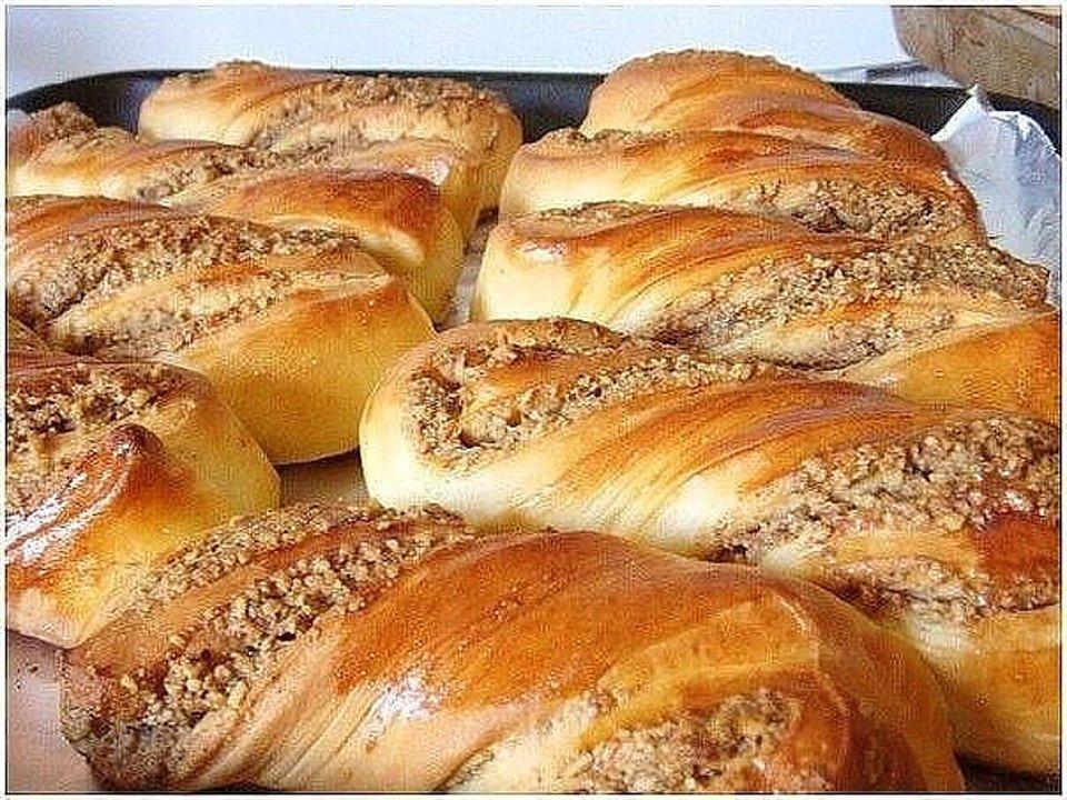 Ореховые булочки - рецепт с фотографиями - Patee. Рецепты