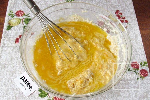 Пирог Ревани с апельсиновым сиропом