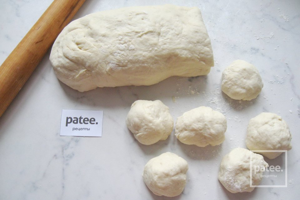 Пирожки с картофелем, курицей и луком