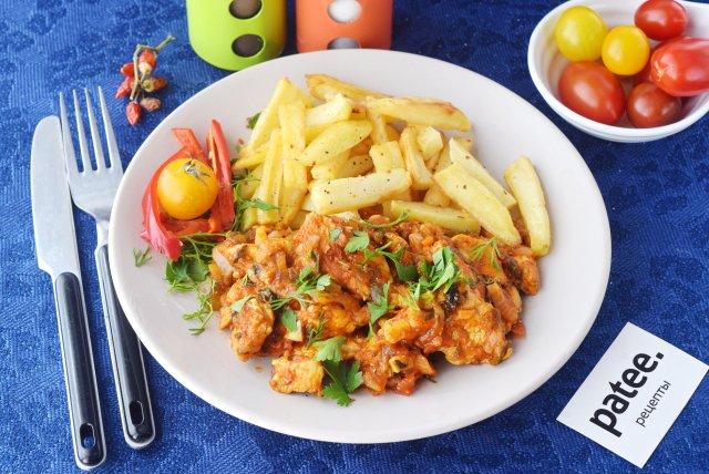 Азу по-татарски с куриным филе