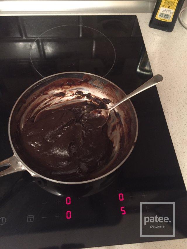 Шоколадный бисквит)
