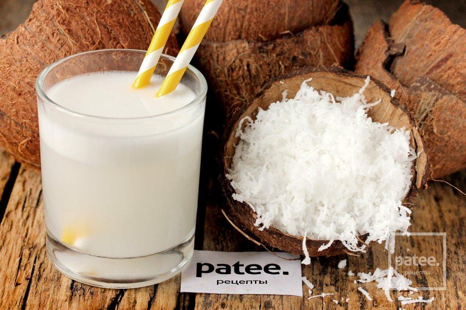 Как сделать кокосовую стружку и кокосовое молоко в домашних условиях