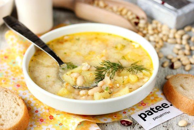 рецепты супов из фасоли и плавленных сырков