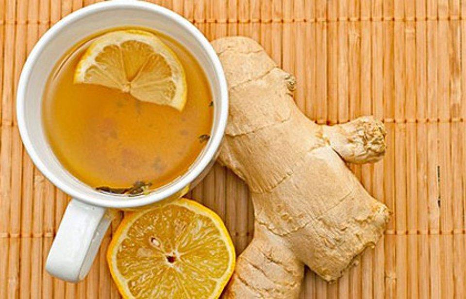 Имбирный чай с лимоном - рецепт с фотографиями - Patee. Рецепты