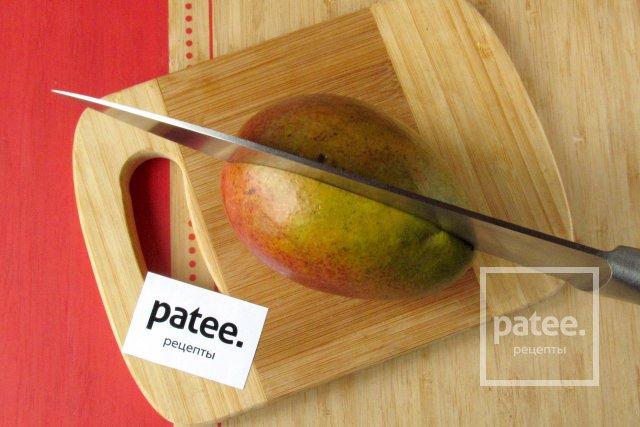 Как разрезать манго