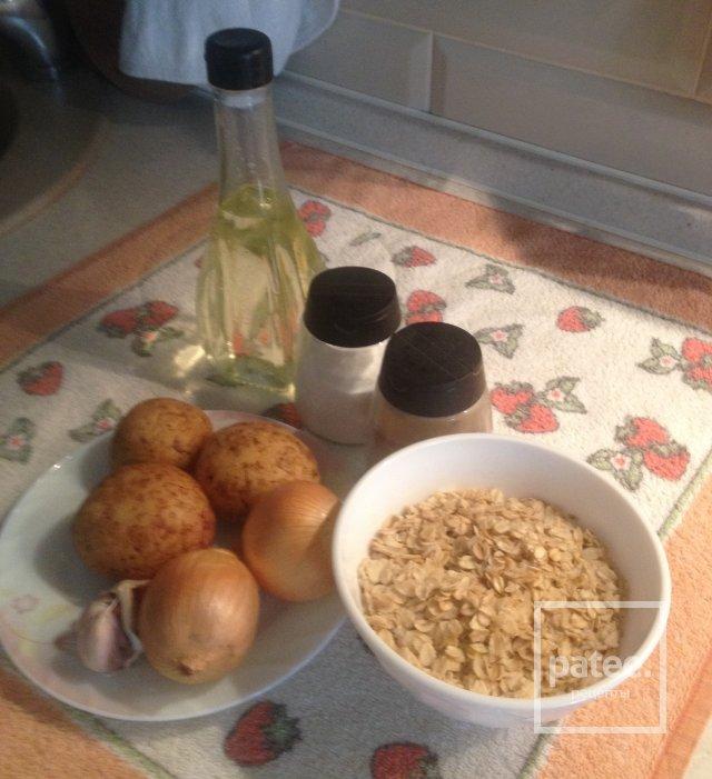 Постные картофельные драники - Шаг 1