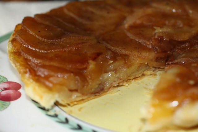 Французский пирог наизнанку: Тарт Татен