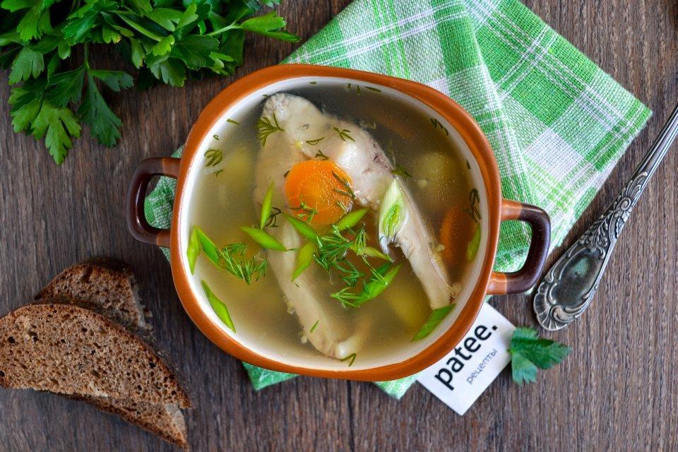 Легкий рыбный суп из карпа