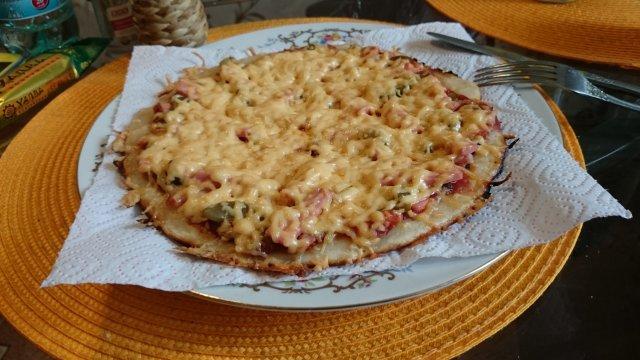 Экспресс Пицца ПП на сковороде