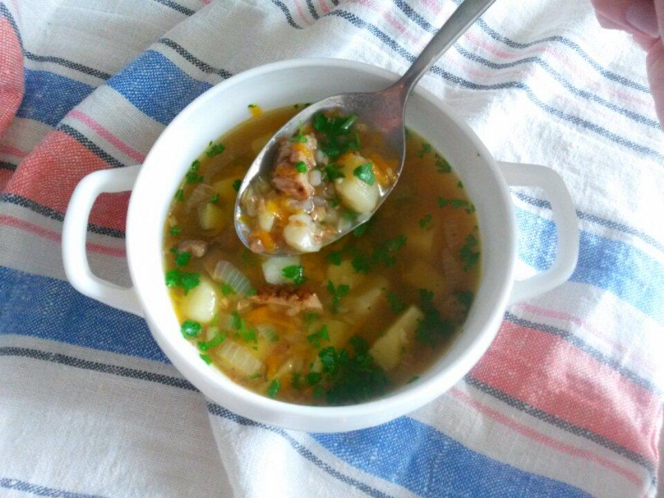 суп с щавелем и грибами рецепт