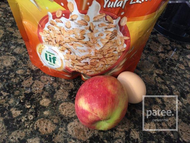 Овсяно-яблочные оладьи
