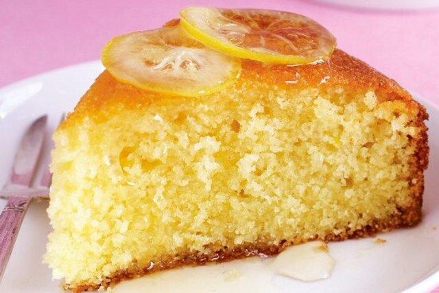 кекс с лимоном рецепт