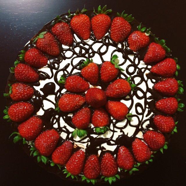 """Торт """" Запах Клубники"""""""