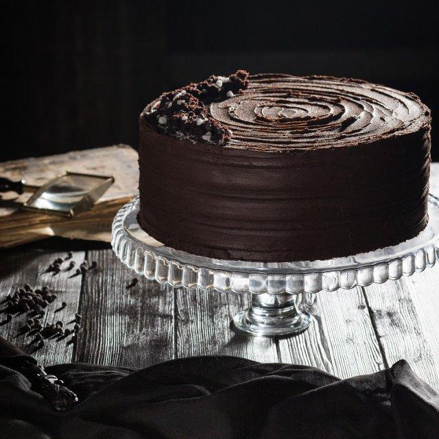 экстра шоколадный торт на темном пиве и эспрессо