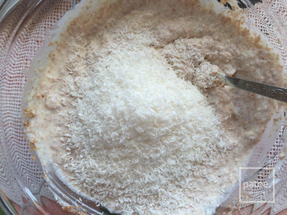 Диетические сырники с кокосовой стружкой и отрубями (пп рецепт)