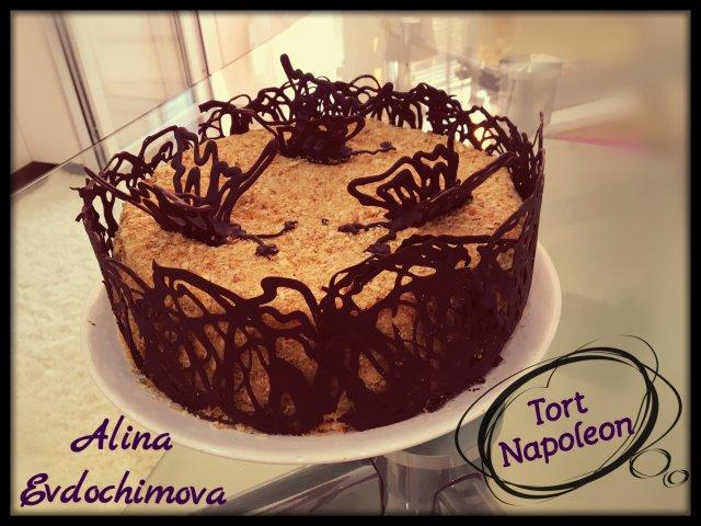 "Торт  ,,Наполеон"""