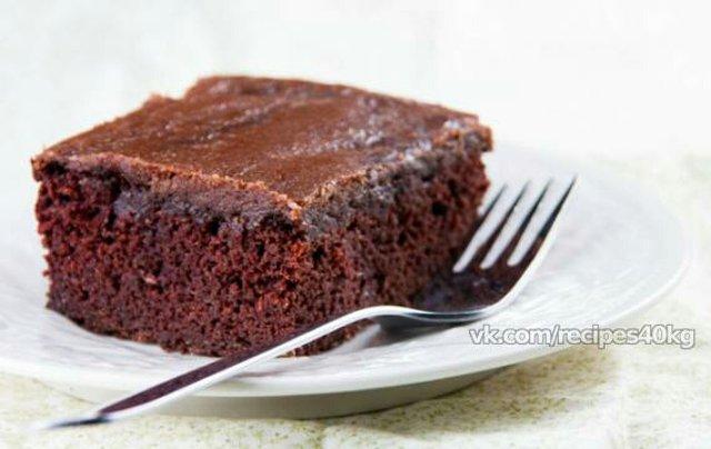низкокалорийный шоколадный торт рецепт с фото