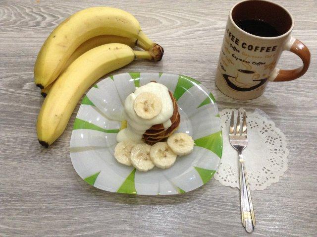 ПП банановые панкейки