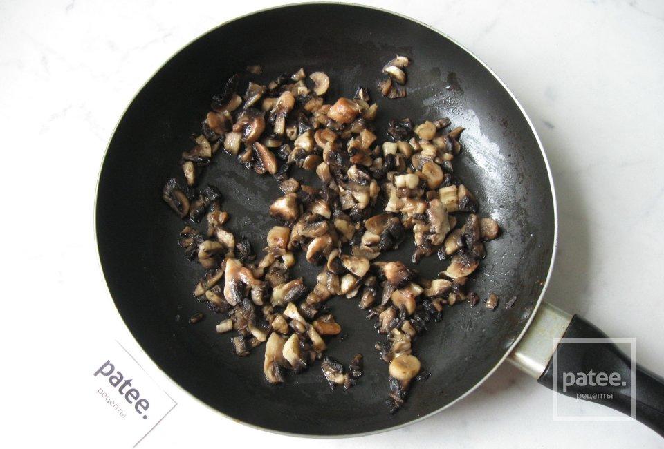Крокеты из индейки с грибами