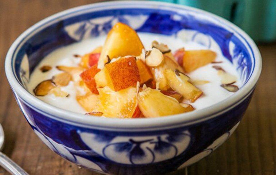 Греческий йогурт на завтрак