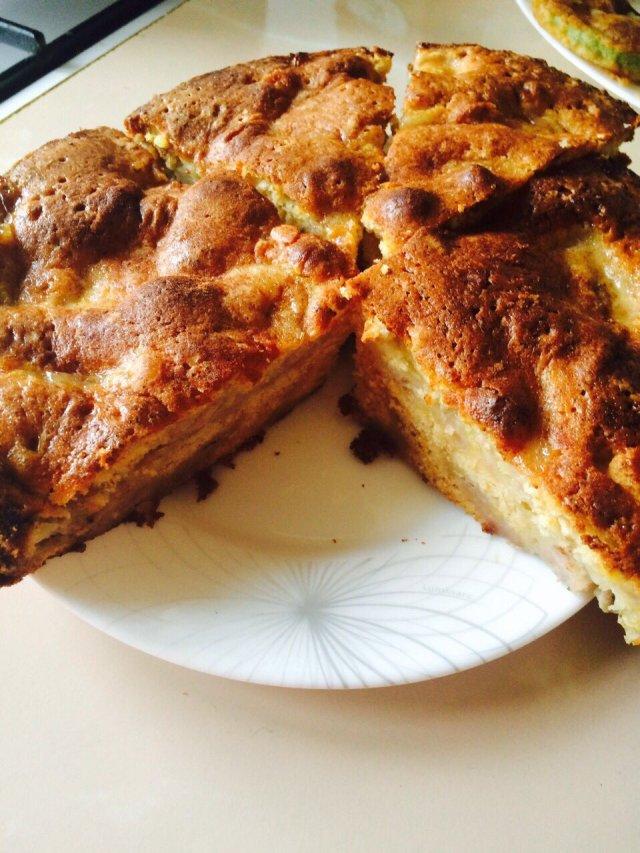 Пирог с бананом.
