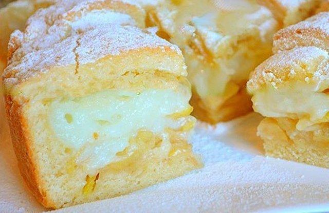 Крем для яблочного пирога