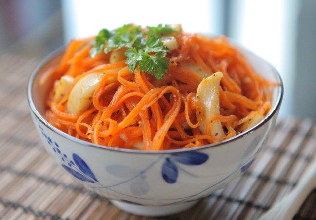 кальмары маринованные по-корейски рецепт