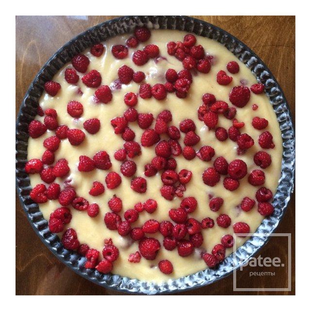 Малиновый пирог.